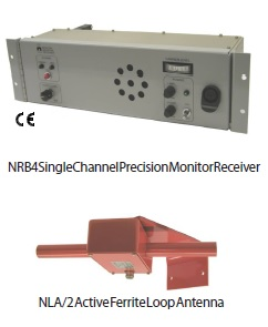 Nautel NRB4 Beacon Monitor Receiver & NLA.2 Active Loop Antenna