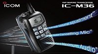 download ic-m36 brochure of icom vhf malaysia