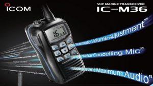 model ic-m36 of icom vhf malaysia