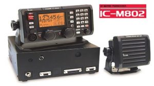 model ic-m802 of icom radio malaysia