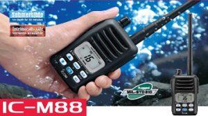 model ic-m88 of icom vhf malaysia