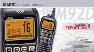 model ic-m92d of icom radio malaysia
