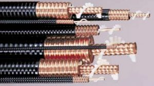 specification of andrew heliax air dielectric cables